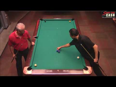 "Ray ""Mac"" McNamara vs Joe Dupuis - STC One Pocket & Banks Event"