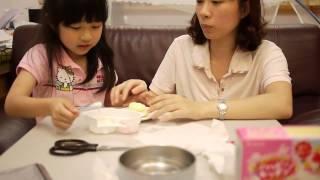 Repeat youtube video Kracie日本食物玩具:蛋糕篇