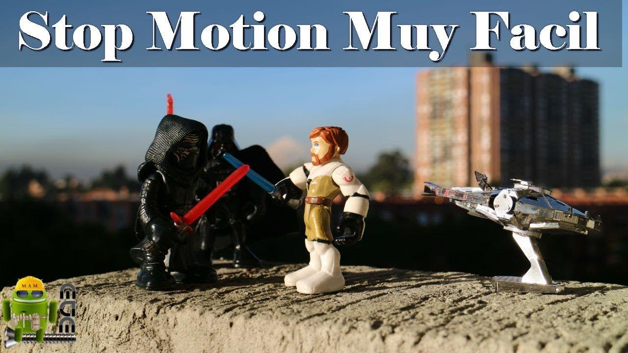 Como Hacer Un Video Stop Motion En Android (Animaciones Con Figuras ...