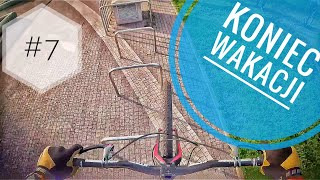 Rowerowe triki na zakończenie wakacji w Warszawie - vlog #7