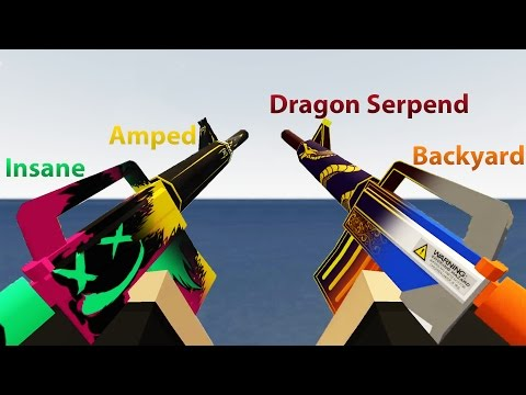 [OUTDATED] All Unturned Stockpile Maplestrike Skins | Unturned Skin Showcase #4 thumbnail