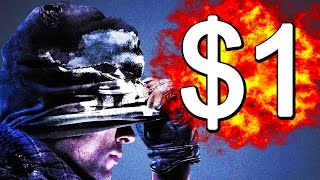 COD GHOSTS IS ONE DOLLAR! - Black Friday Shenanigans