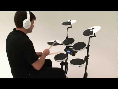 Roland V-Drums Portable TD-4KP Kit Examples 1 (Acoustic Sounds)