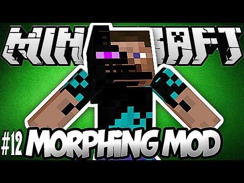 Будь кем угодно в Minecraft!Обзор мода Minecraft 'Morph'