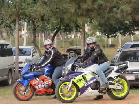 Viaje a Asunción en moto acompañando a Chupete Competición
