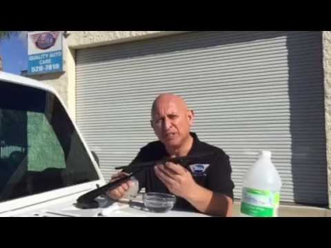 How to clean your windshield wiper blades