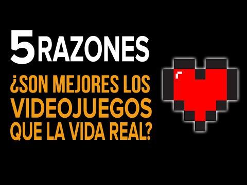5 RAZONES por las que los videojuegos SON MEJORES que la vida real... O NO!