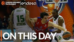 On this day, April 16, 2015: CSKA sets playoff record with 28 assists