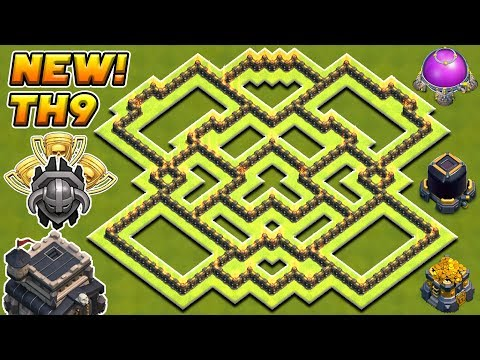 BEST TOWN HALL 9 (TH9) FARMING BASE 2018 ! | TH9 FARMING BASE 2018! | CLASH OF CLANS