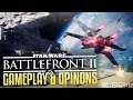 Star Wars BattleFront 2 Gameplay & Opinions