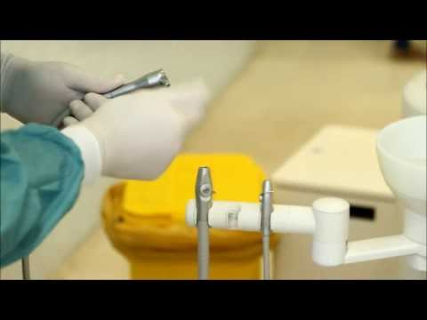 Cleaning Dental Chair With Wipes