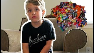 Hey Jimmy Kimmel, I Told My Kids I Ate All Of Their Halloween Candy!