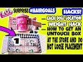 L.O.L SURPRISE HAIRGOALS  MAKEOVER SERIES 5 WAVE 1 HACKS FULL BOX+BALL PLACEMENT+WEIGHT HACK.