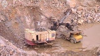 Область полезных ископаемых. В Новобибиевском карьере установили рекорд добычи гранита