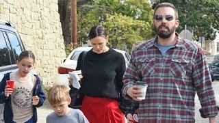 Jennifer Garner Looks Sad But Gets Support From Ben Affleck After Split With John Miller