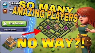 Top 5 Amazing Players in Clash Of Clans (Hindi) || Top 5 Unreal Members in Clash Of Clans (2018)
