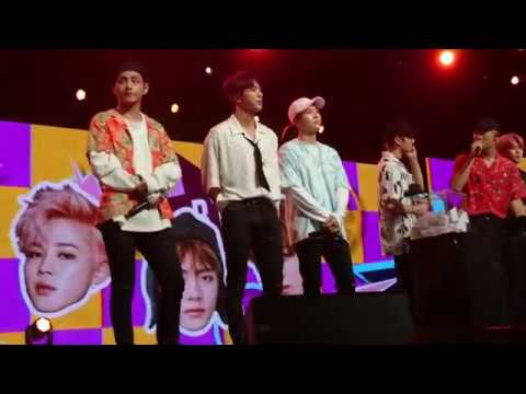 170804 BTS pick lucky fans - Music Bank in Singapore
