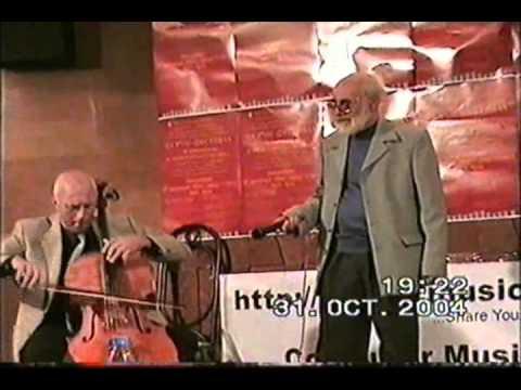 Simo Lazarov Kamena Song Computer Music Space Festival2004Union Of Bulgarian Composers