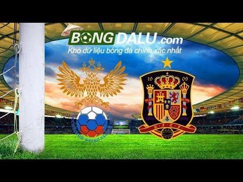 Nga VS Tây Ban Nha - Giao hữu Quốc tế - 15/11/2017- Bongdalu.com- Nhận định bóng đá