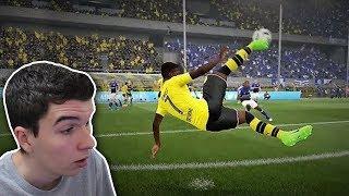 ISSO SÓ PODE SER MONTAGEM!! - TOP 20 MAIORES GOLAÇOS NO FIFA 17!!!