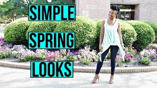 SPRING FASHION HAUL & SIMPLE LOOKS | HSN LaBellum Hillary Scott Fashions Review