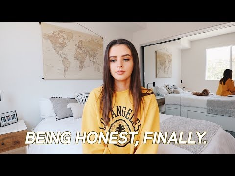 finally being honest with you guys