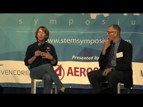 2016 K-12 STEM Symposium: Astronaut Dr. Sandy Magnus and Donald James of NASA