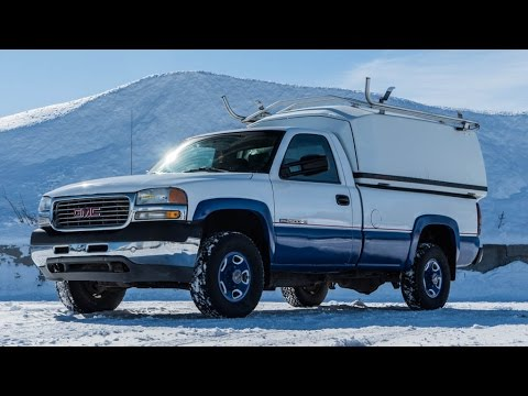 2002 gmc sierra 2500 pick up vendre pickup truck for sale youtube. Black Bedroom Furniture Sets. Home Design Ideas