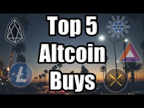 TOP 5 ALTCOINS TO BUY IN JUNE!!! 🚨 Best Cryptocurrencies to Invest in Q2 2019! [Bitcoin News]