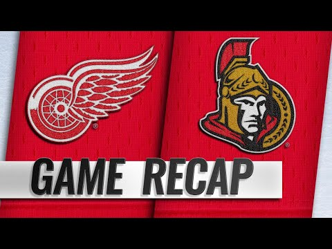 Ceci, Batherson lead Sens past Red Wings, 2-1