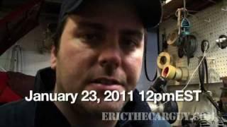 Podcast January 23, 2011 12pmest - Ericthecarguy