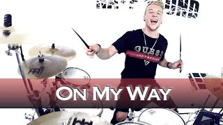 Alan Walker - On My Way -  Drum Cover (Da Tweekaz Remix)
