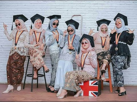 Inspirasi Model Kebaya Wisuda Modern 2018 2019 Untuk Muslimah