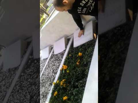 Kemal Sunalın mezarı başında...