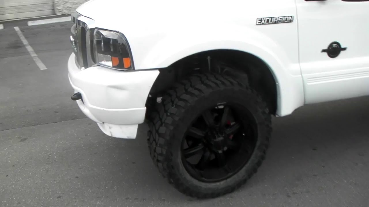 877 544 8473 Ford Excursion 35 Inch Tires 6 Pro Comp Lift Call F 250 With Us For Installation S Florida Youtube