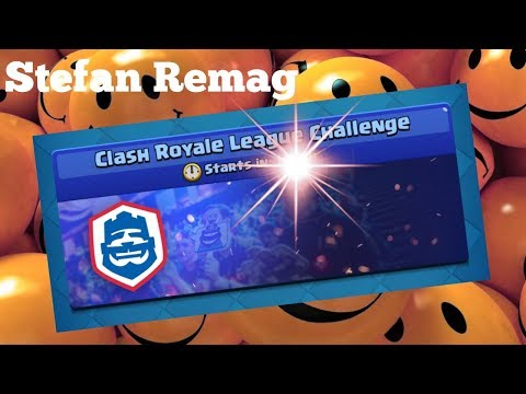 🔴[LIVE] CLASH ROYALE LEAGUE CHALLENGE - Stefan Remag ep. 168