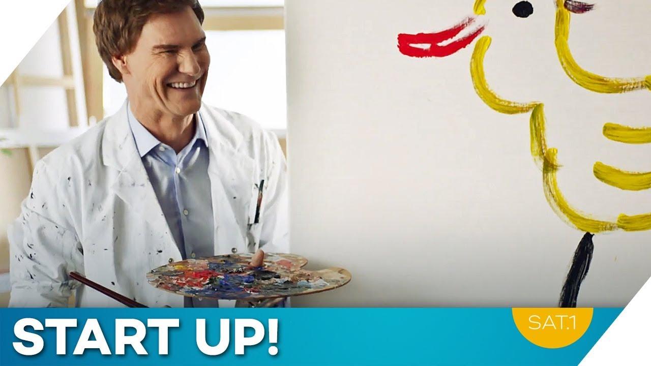 Es gibt bessere Maler... | START UP! Heute Abend! | SAT.1