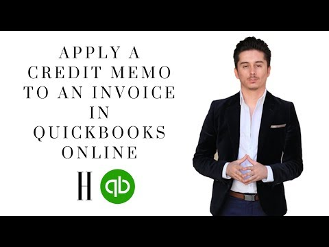 How To Apply A Credit Memo To An Invoice In Quickbooks Online   Honest Accounting Group