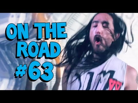 Steve Aoki at Electric Zoo 2012  On The Road 63