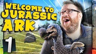 ARK: Survival Evolved Ragnarok - WELCOME TO JURASSIC ARK