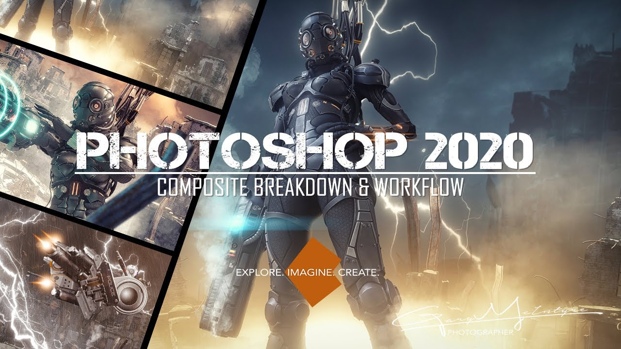 Photoshop Composite Breakdown & Workflow