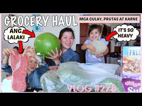 GROCERY HAUL | MGA PAG KAIN NI JOHN + MGA GULAY AT PRUTAS NG MGA BATA