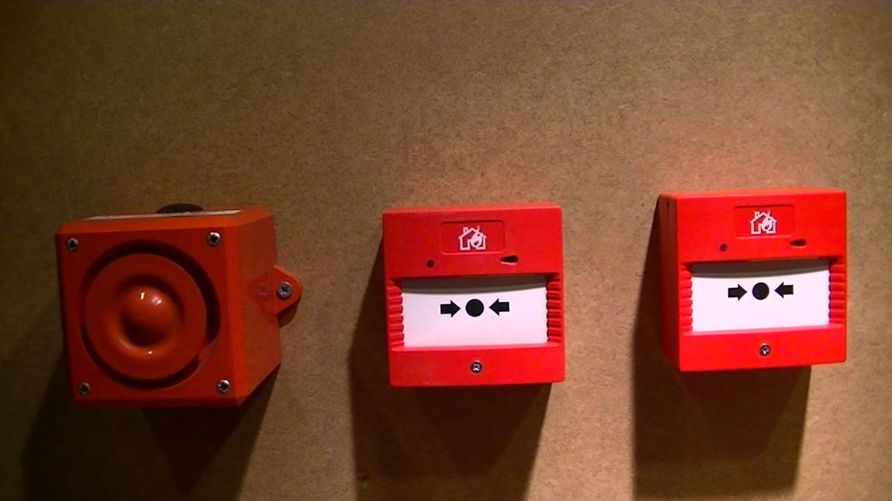 Fire alarm call points, how to wire them  YouTube