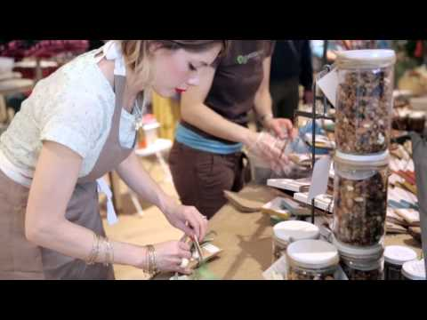 A pop-up farmer's market in our L.A. store | Anthropologie