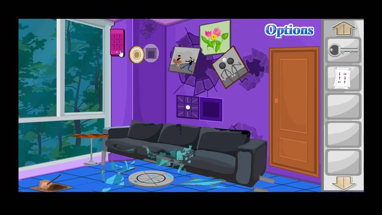 Escape Game Unfixed Living Room Level 7 Walkthrough