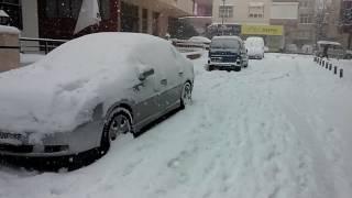18 February 2015 Istanbul Snow Storm - 18 Subat 2015 İstanbul Kar Yağışı Part 1