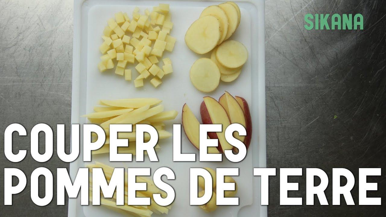 Couper des pommes de terre cuisiner des l gumes youtube - Cuisiner les pommes de terre de noirmoutier ...
