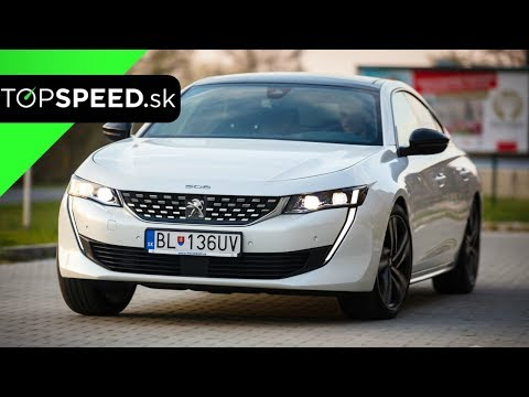 Peugeot 508 Test - Alex ŠTEFUCA TOPSPEED.sk