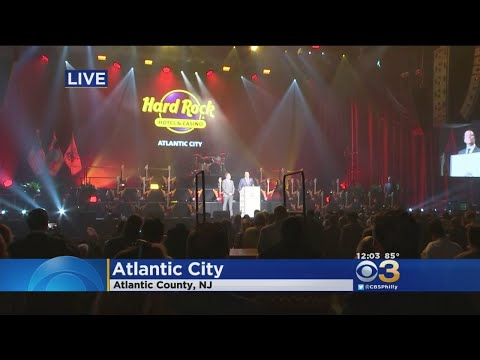 Hard Rock Casino In Atlantic City Holds 'Rockin' Celebration' To Mark Grand Opening