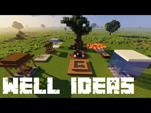 Infinite Water Source And Well Designs In Minecraft